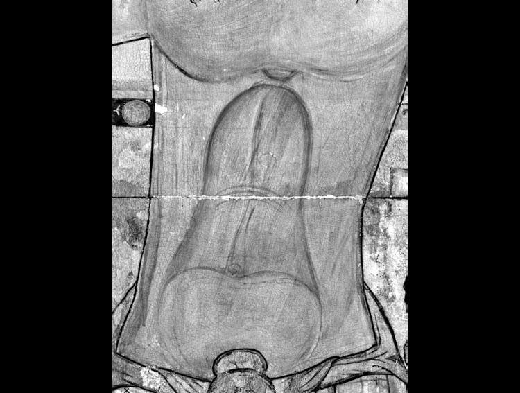 Il disegno preparatorio della croce di Rosano