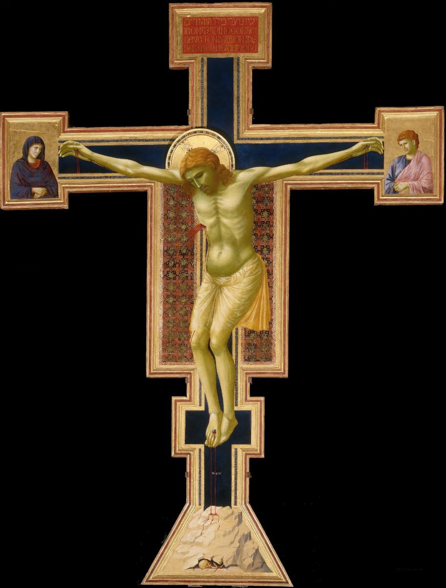 Giotto, Crocifisso (1295-1300 circa; tempera su tavola; Firenze, Santa Maria Novella)