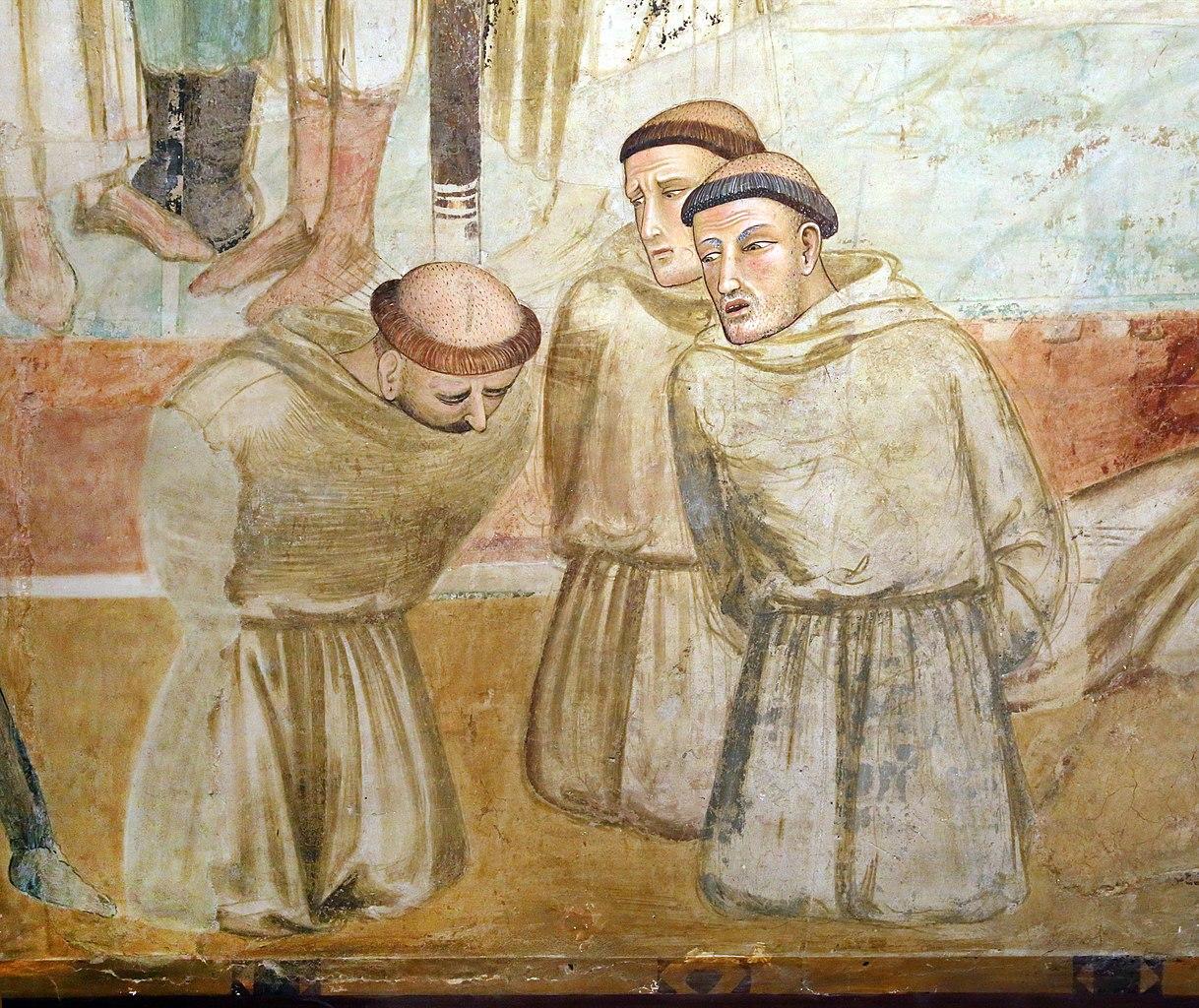 Ambrogio Lorenzetti, Martirio dei francescani, dettaglio