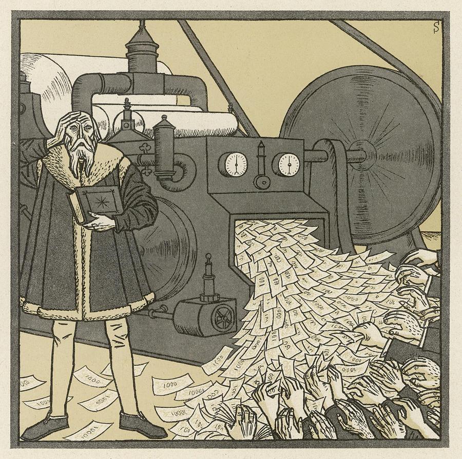 Erich Schilling, Das habe ich nicht gewollt! (illustrazione sulla rivista Simplicissimus del 15 novembre 1922)