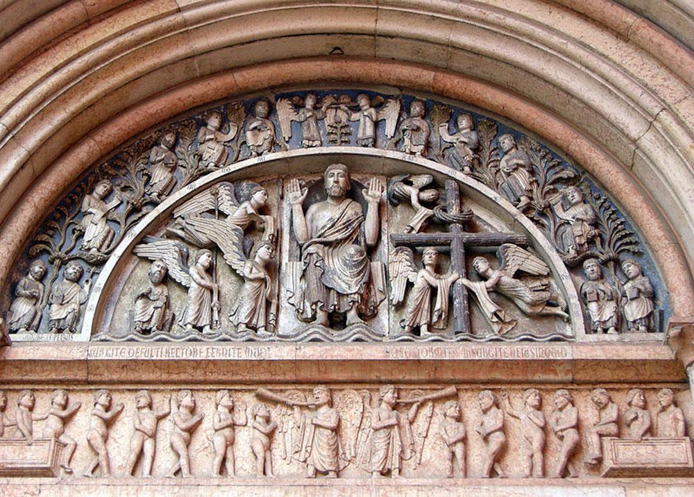 Il portale del Redentore. Ph. Credit Francesco Bini