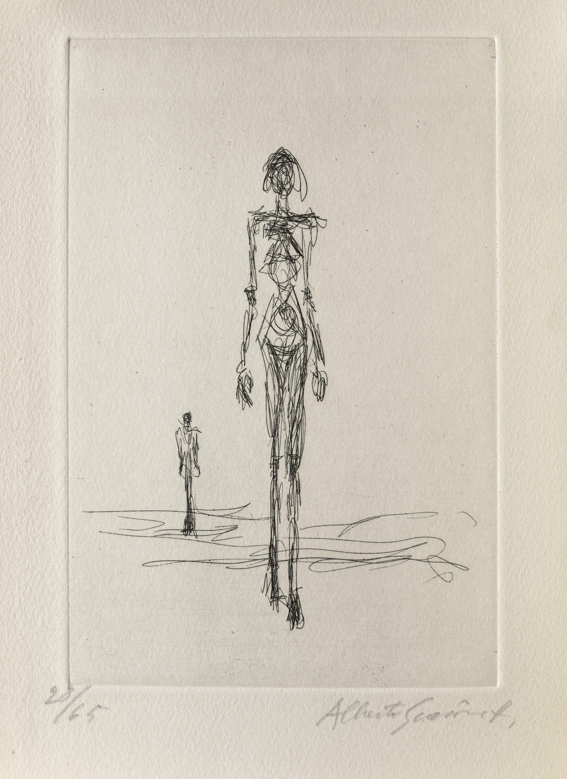 A Chiasso in mostra la produzione grafica di Giacometti: esposti oltre 400 fogli