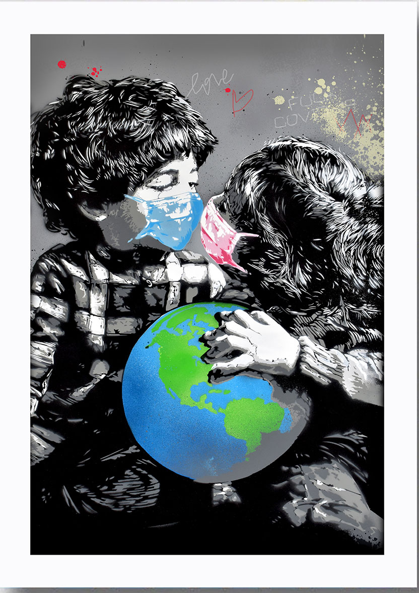 La street art padovana a sostegno della terapia intensiva con un'asta online