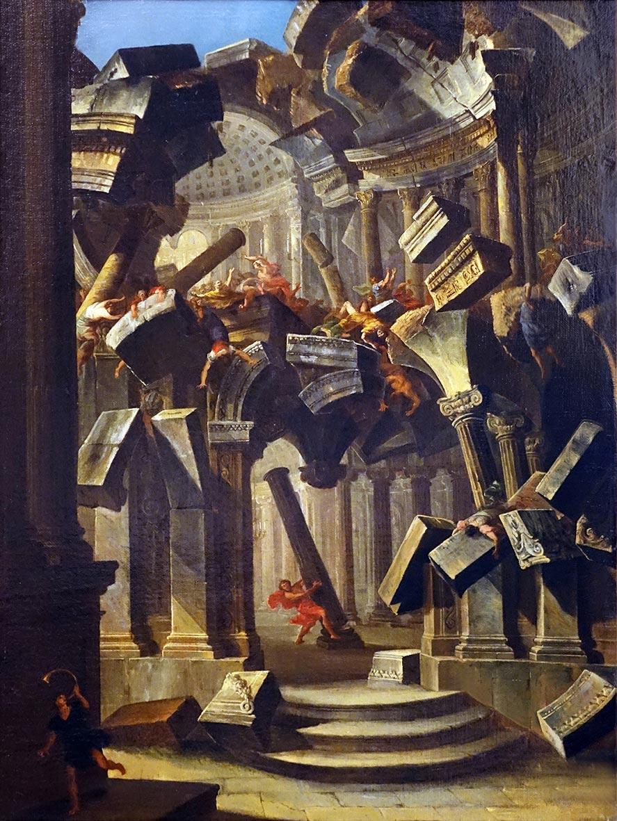 Le prospettive settecentesche di Antonio Joli sono in mostra da BPER Banca a Modena