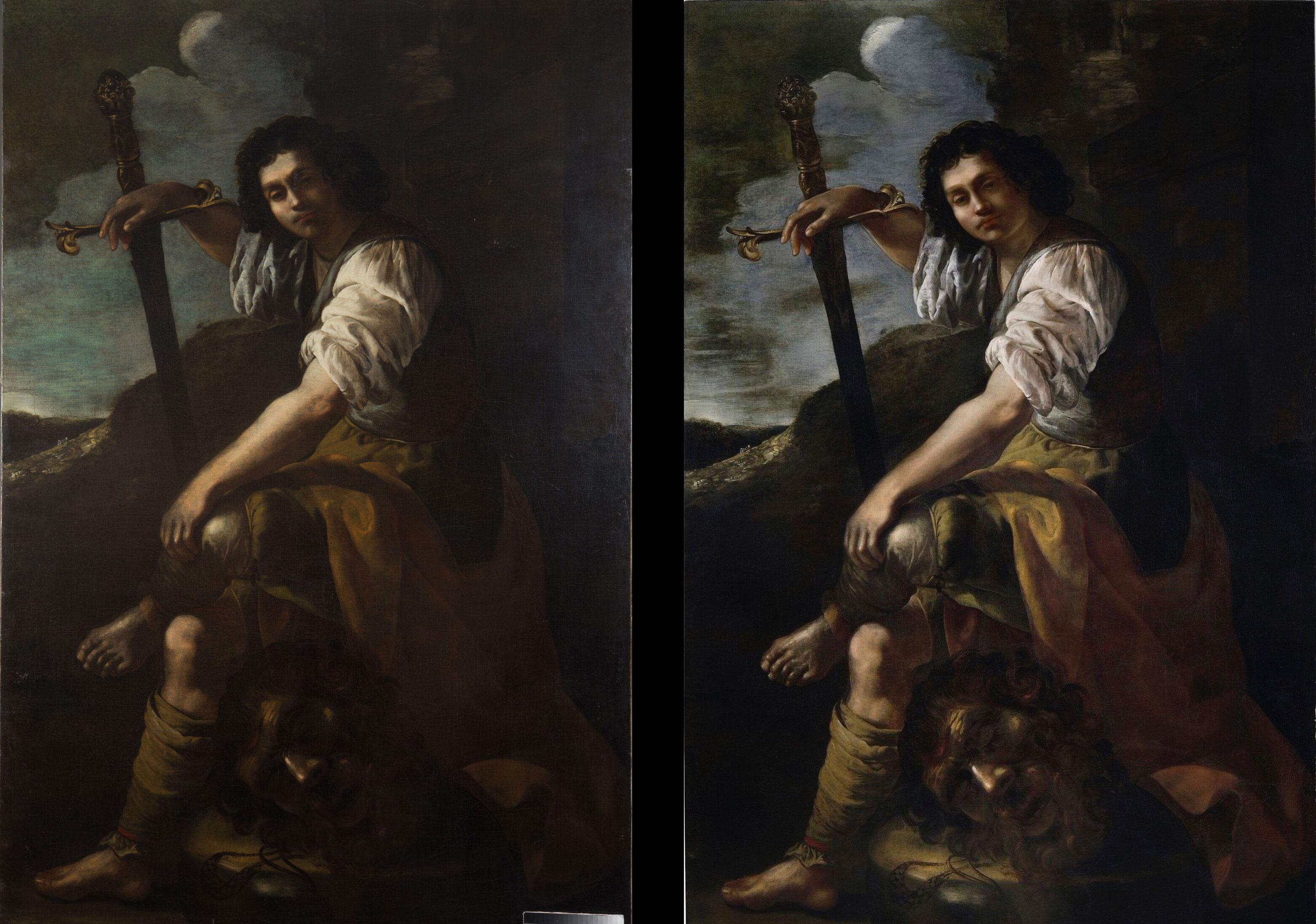 """Un """"Davide e Golia"""" assegnato definitivamente e senza dubbi ad Artemisia Gentileschi cerca un museo che lo esponga"""