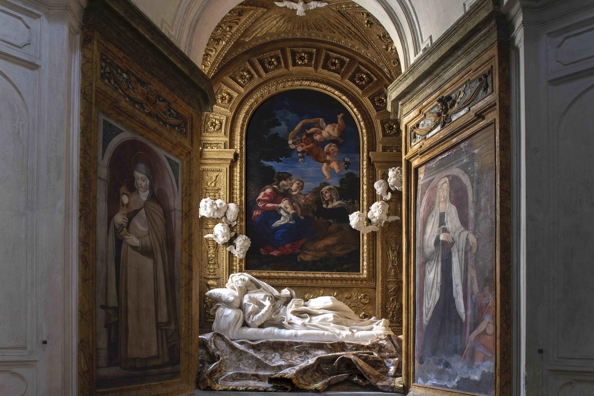 Roma, termina il restauro della Cappella della beata Albertoni, capolavoro di Gian Lorenzo Bernini