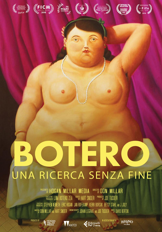 Al cinema un documentario senza precedenti dedicato a Fernando Botero