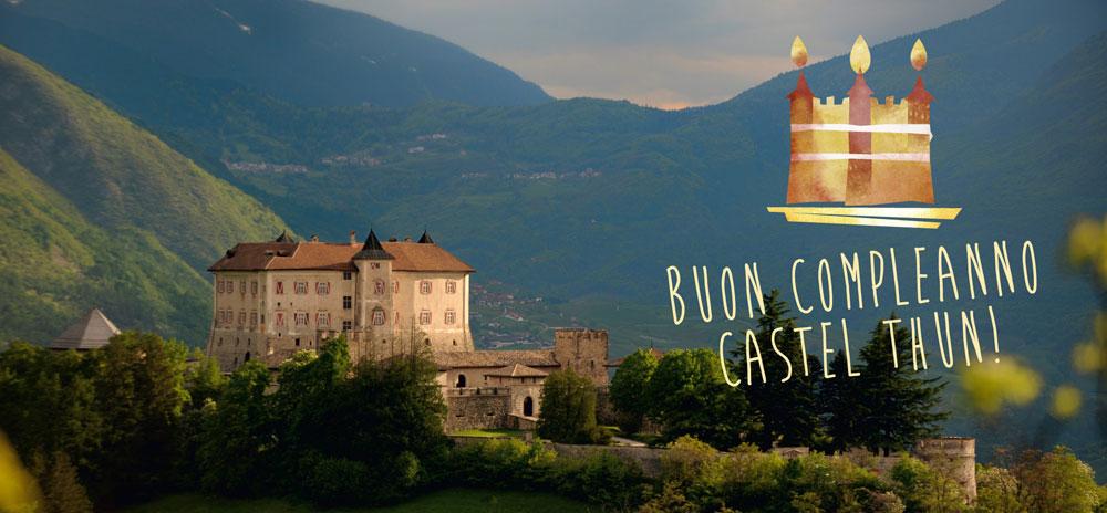 Buon decimo compleanno Castel Thun! E si festeggia virtualmente per una settimana