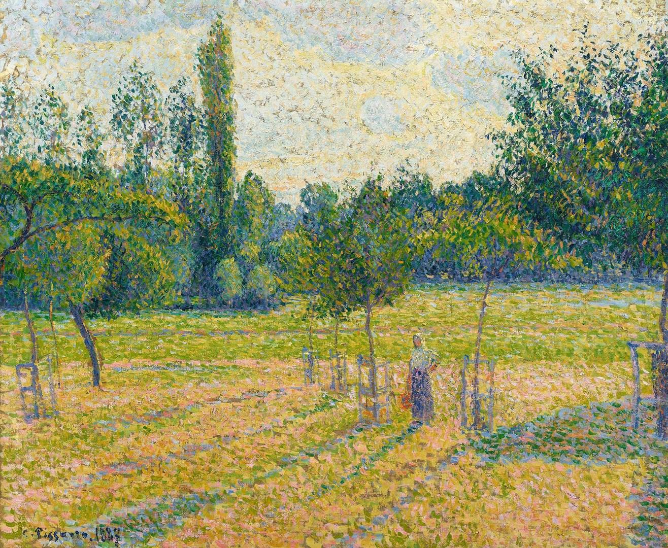 """Un capolavoro """"divisionista"""" di Camille Pissarro acquisito dalla National Gallery"""