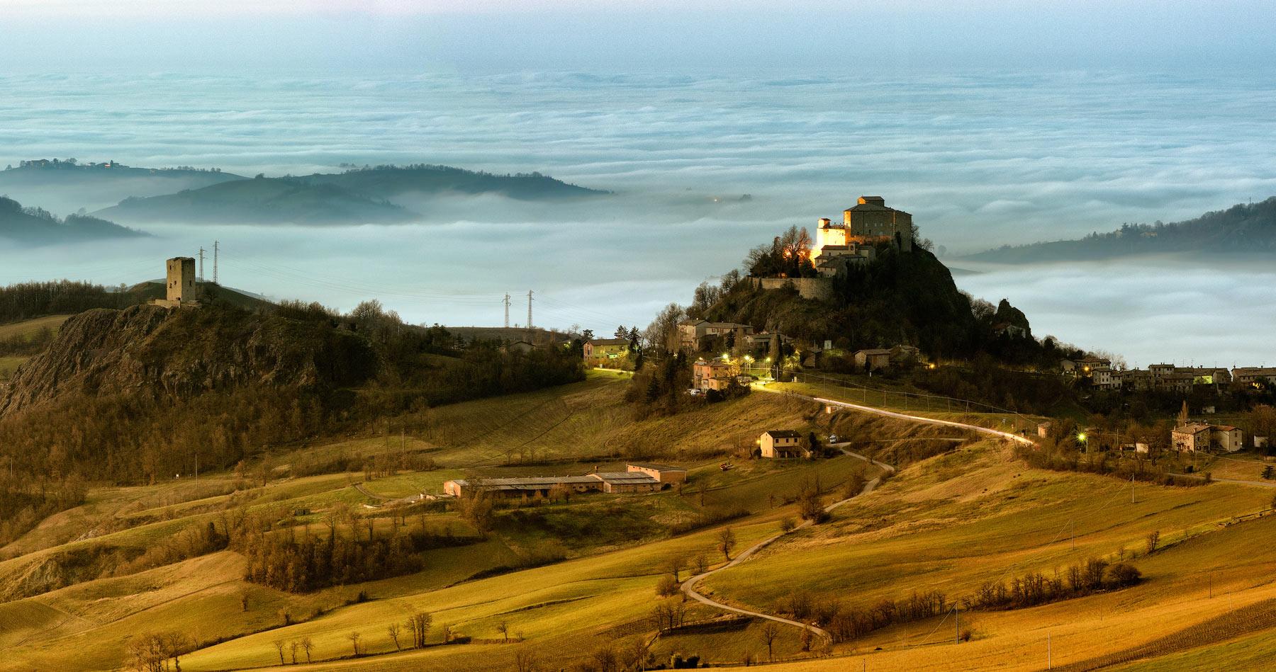 Il Castello di Rossena (Via Matildica del Volto Santo)