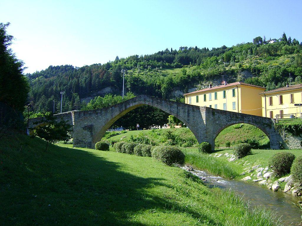 Il Ponte San Donato a Modigliana (Cammino di sant'Antonio)