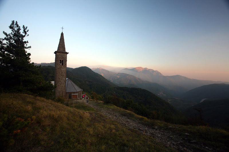 Il Passo della Cisa (Via Francigena)