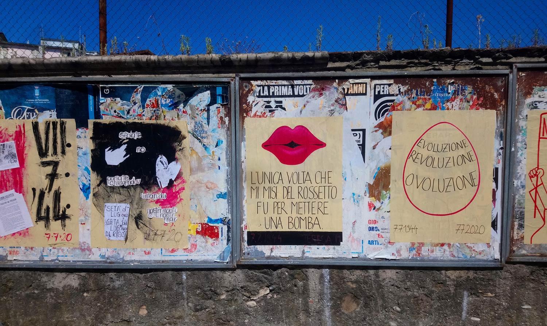 Street Art, a Carrara un'opera omaggia le donne che si ribellarono ai nazisti nel '44