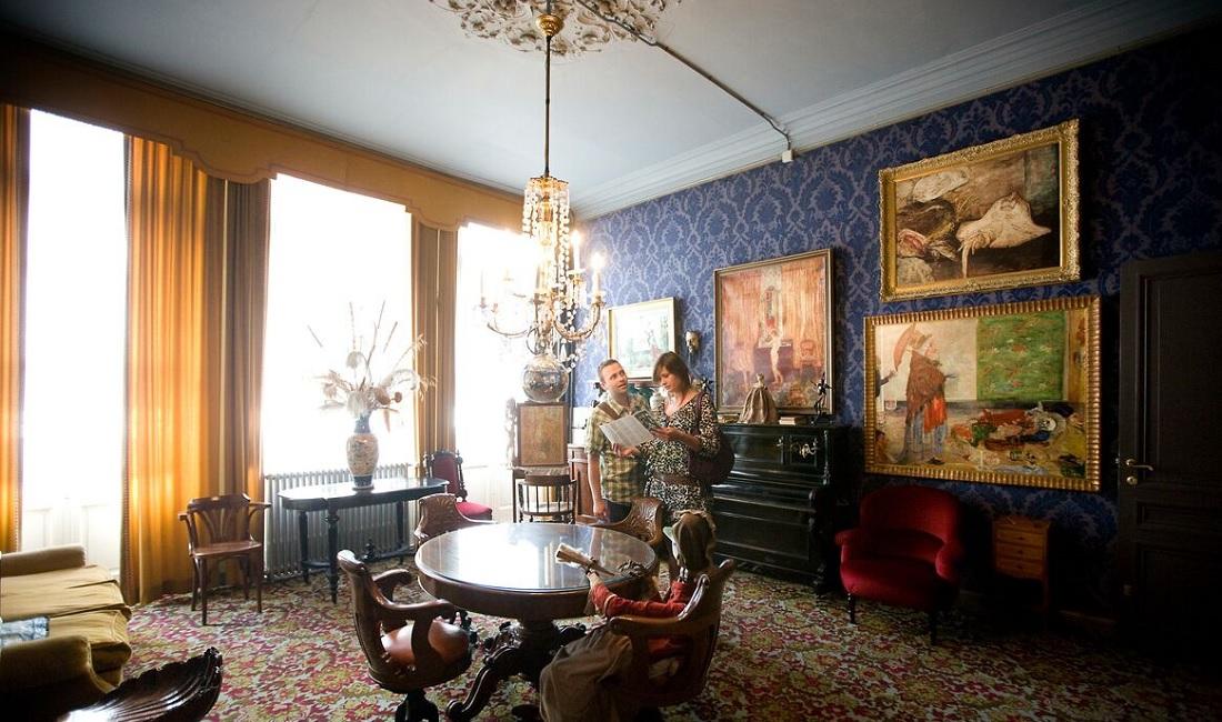 La casa natale di James Ensor ad Ostenda è di nuovo visitabile