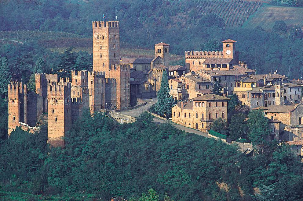 Veduta di Castell'Arquato