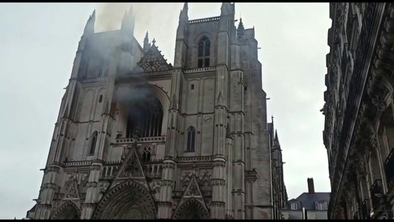 Incendio di Nantes, rilasciato senza accuse il 39enne sospettato