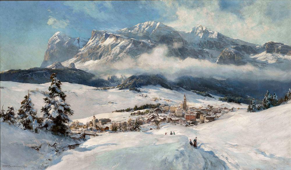 La montagna raccontata nei dipinti tra Ottocento e Novecento. Una mostra a Conegliano