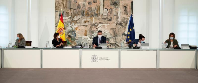 Spagna, un'opera d'arte fa da sfondo al Consiglio dei Ministri e l'artista si arrabbia