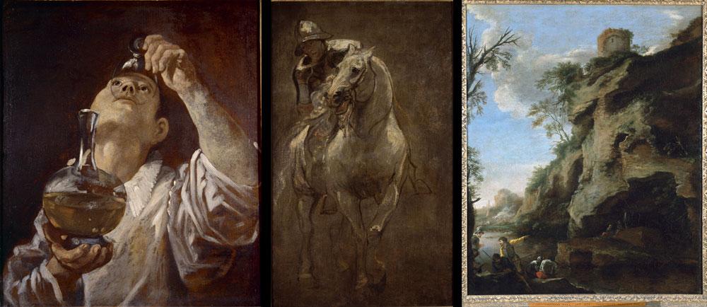 Rubate tre importantissime opere (Carracci, van Dyck e Salvator Rosa) alla Christ Church Picture Gallery di Oxford