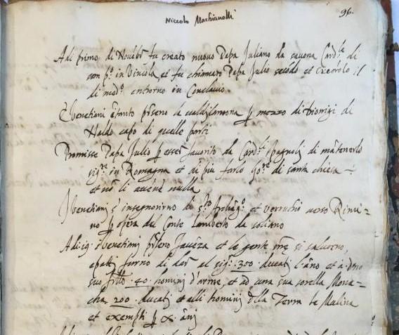 Firenze, eccezionale scoperta: trovati alcuni testi inediti di Machiavelli