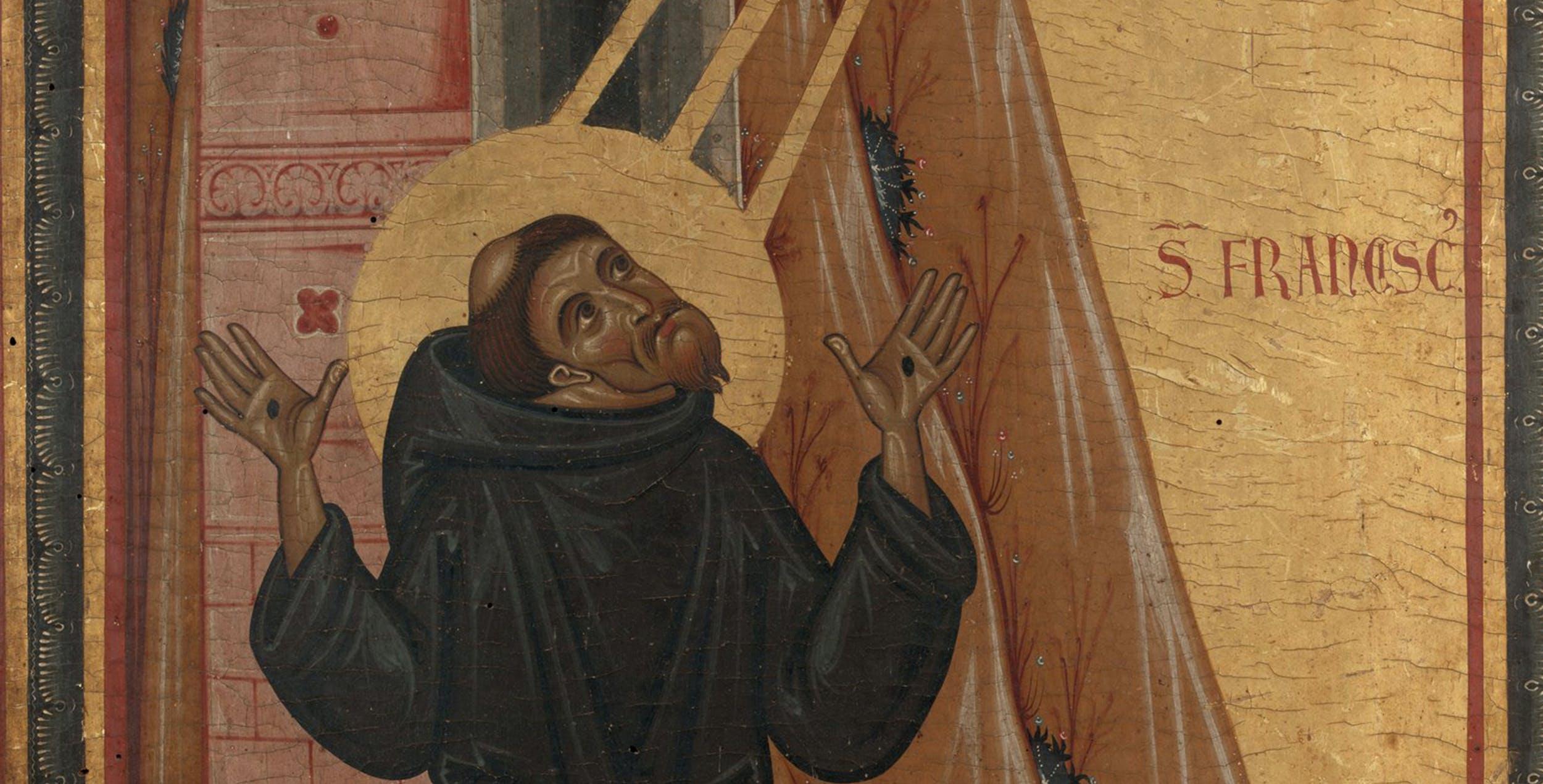 Gli Uffizi propongono una mostra virtuale su san Francesco con le opere del museo