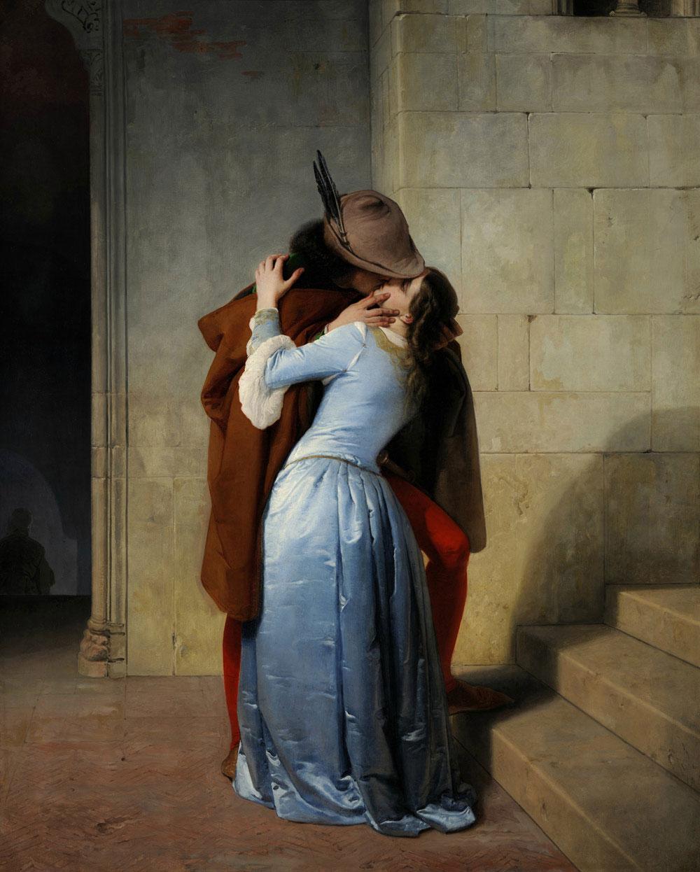 I capolavori della Pinacoteca di Brera in altissima definizione, dal Bacio di Hayez all'Adorazione del Correggio