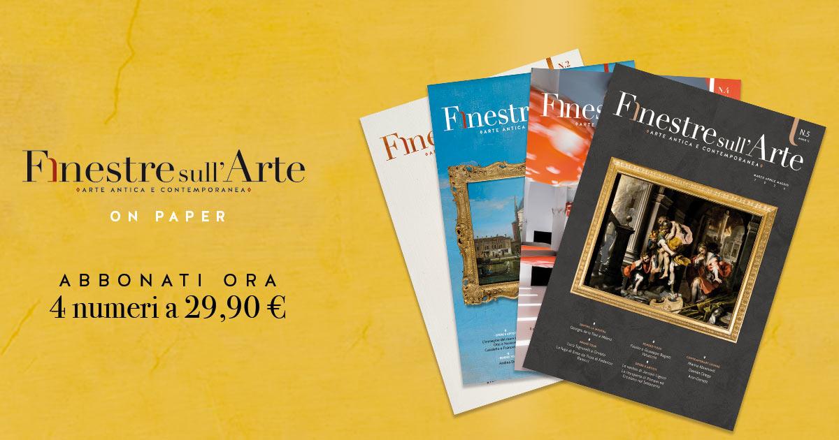 Il 2020 di Finestre sull'Arte on paper riparte da Federico Barocci, protagonista del nuovo numero del nostro cartaceo