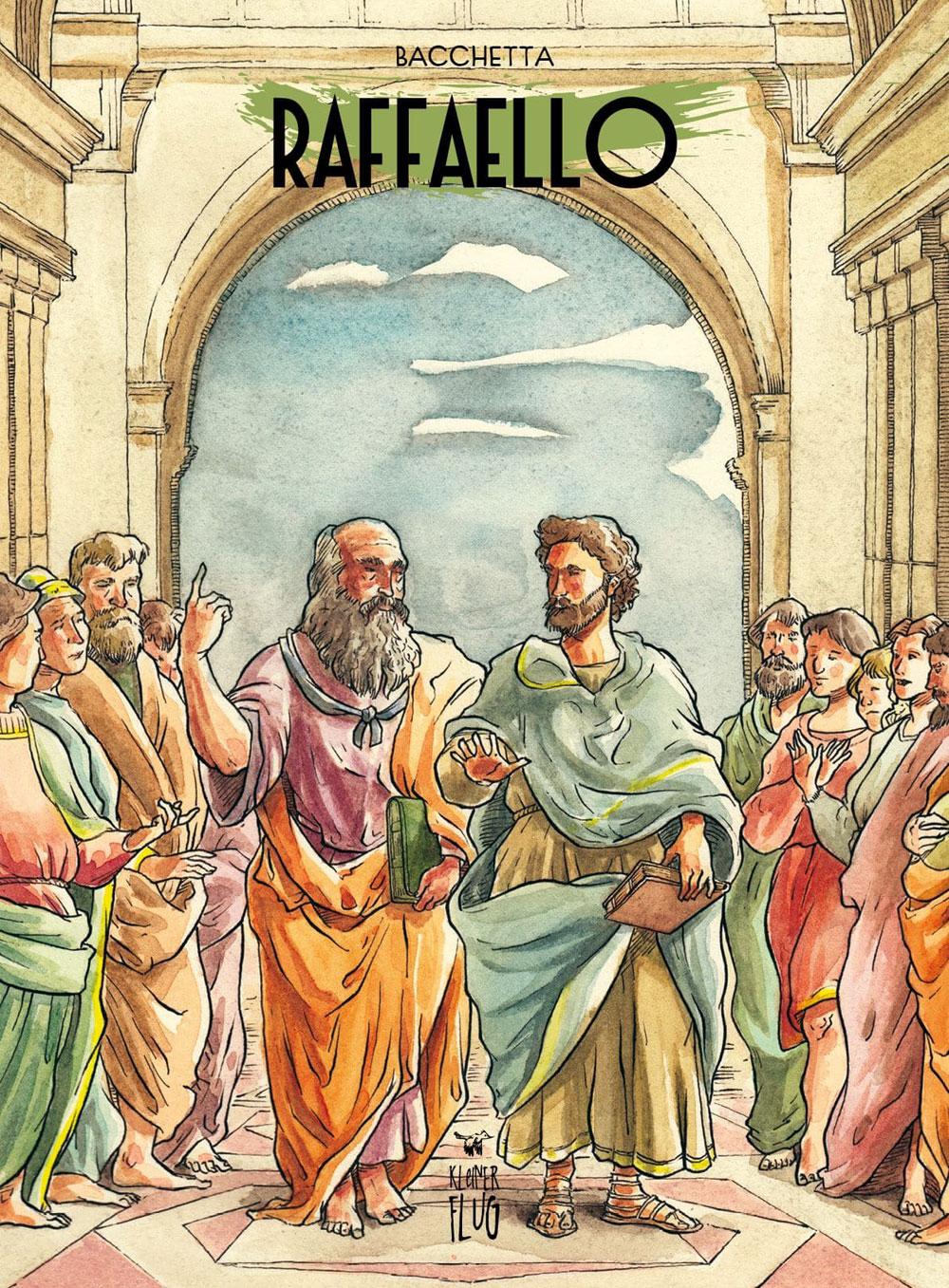 La vita e l'opera di Raffaello diventa un fumetto