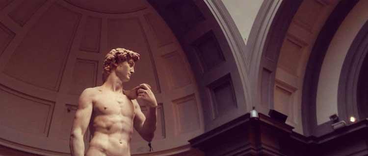 Alla scoperta della Galleria dell'Accademia di Firenze e delle sue collezioni in compagnia di... Davidino