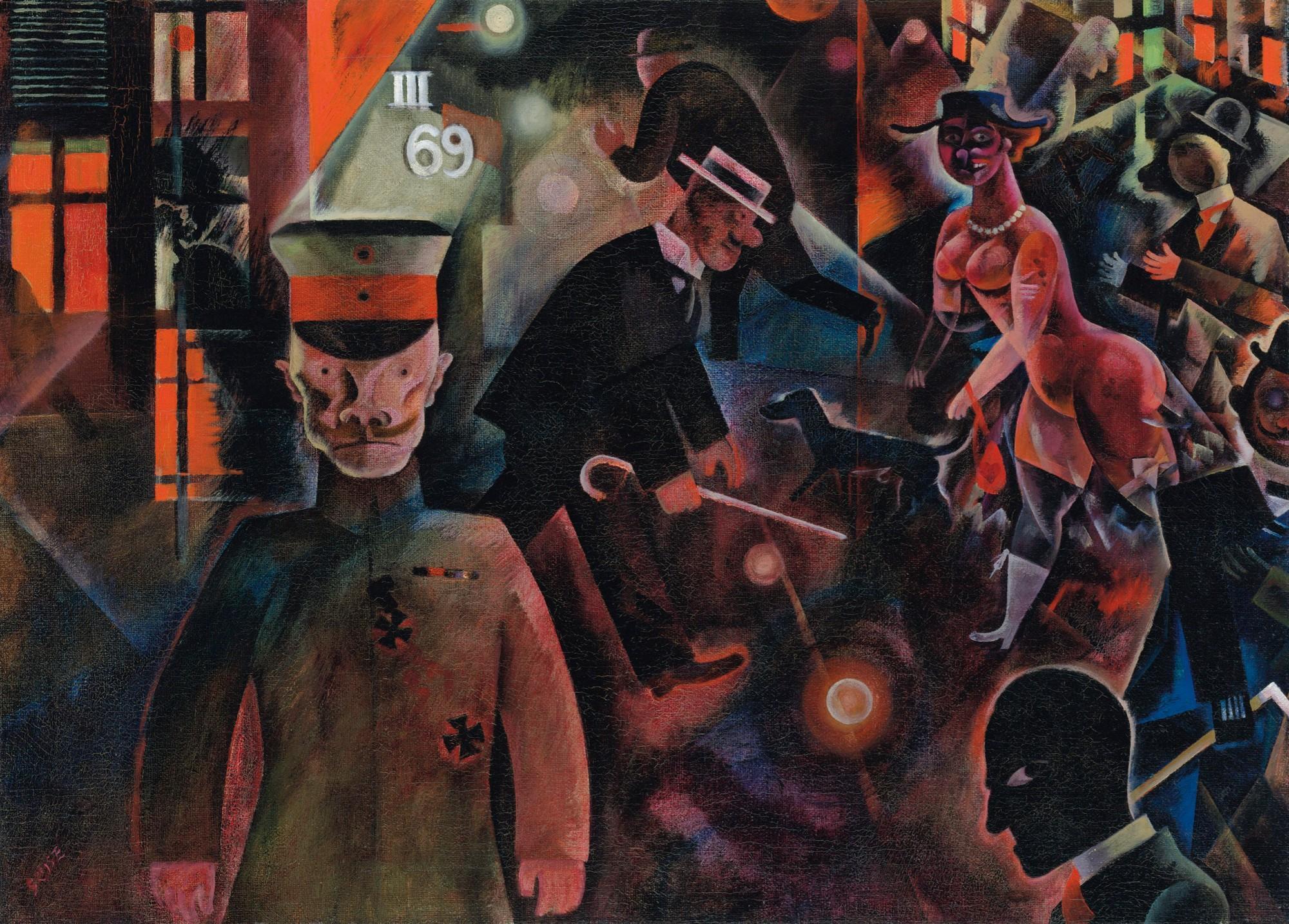 Una Berlino orrorifica dopo la prima guerra mondiale nel capolavoro di George Grosz che andrà in asta da Christie's
