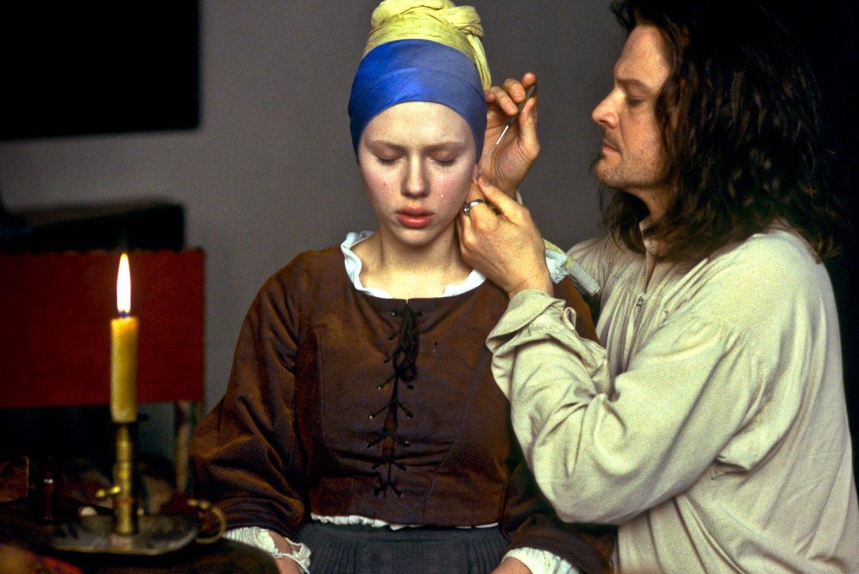 """Stasera su Sky Arte il film """"La ragazza con l'orecchino di perla"""" con Scarlett Johansson e Colin Firth"""