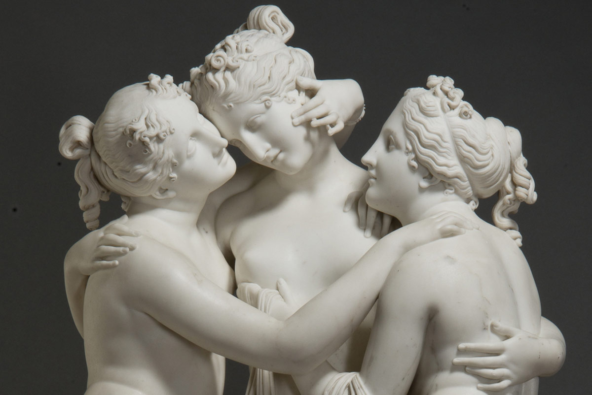 Un tour virtuale nella mostra record delle Gallerie d'Italia dedicata a Canova e Thorvaldsen