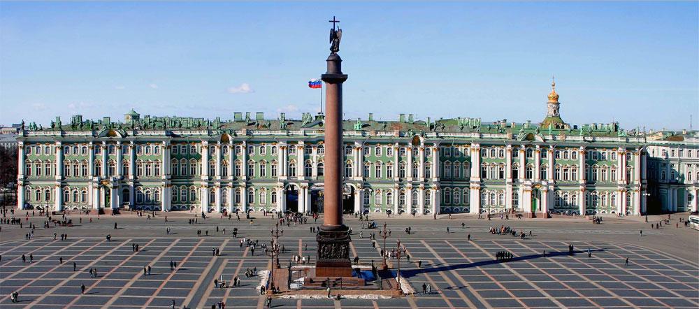 Tre musei italiani omaggiano con visite online in russo l'Hermitage di San Pietroburgo