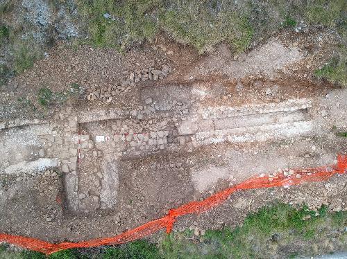 Trieste, scoperto un tratto dell'acquedotto romano che portava l'acqua in città