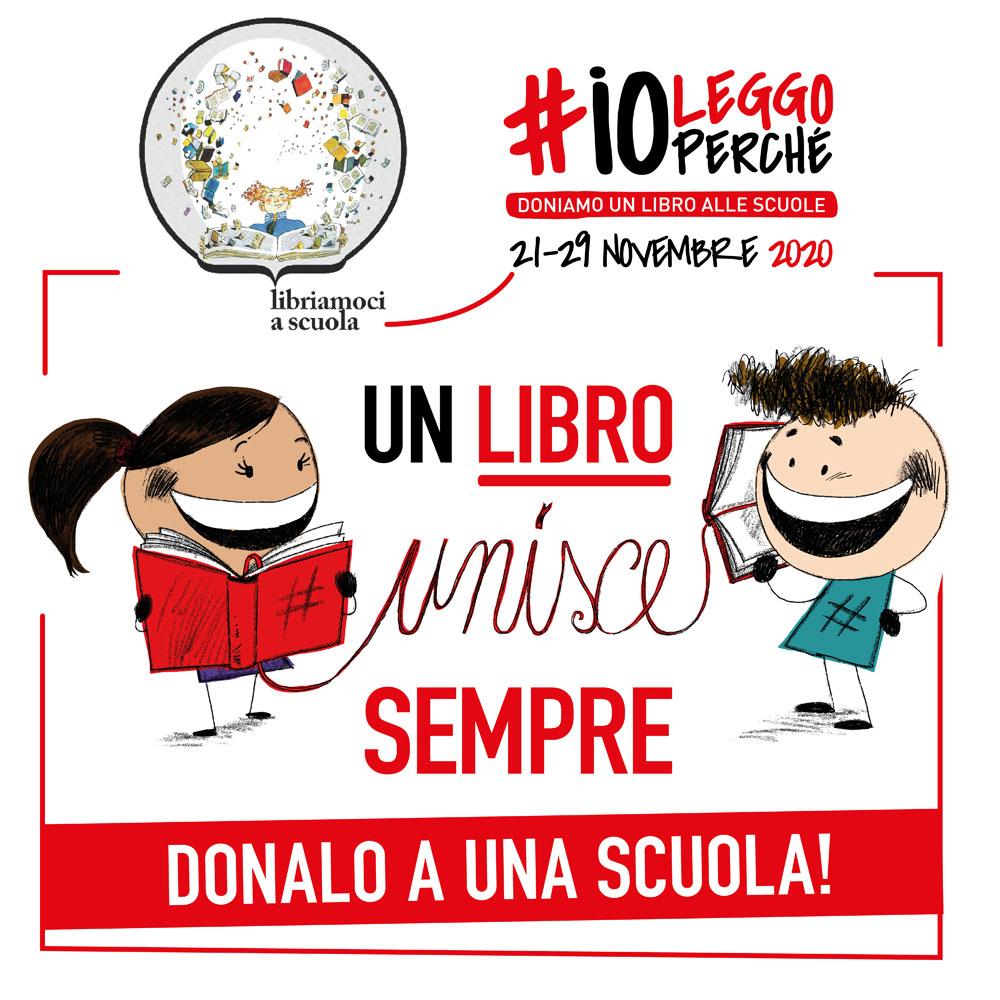 #ioleggoperché, al via la campagna social sul libro e sulla lettura