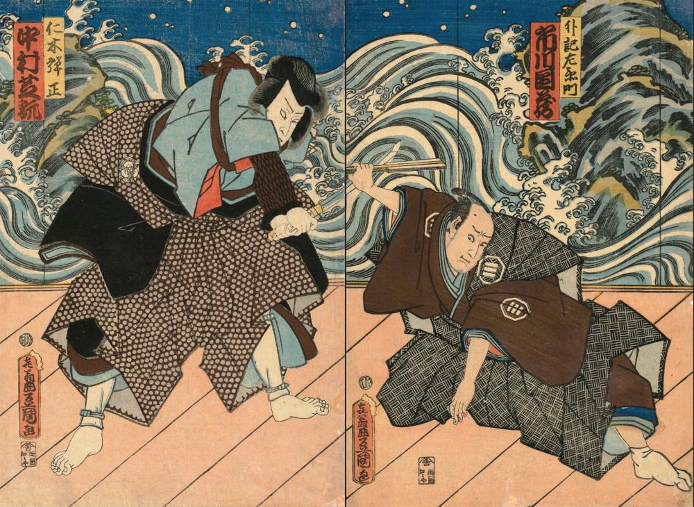 I maestri giapponesi arrivano in Calabria: Hokusai, Hiroshige, Kuniyoshi e gli altri alla Galleria Nazionale di Cosenza