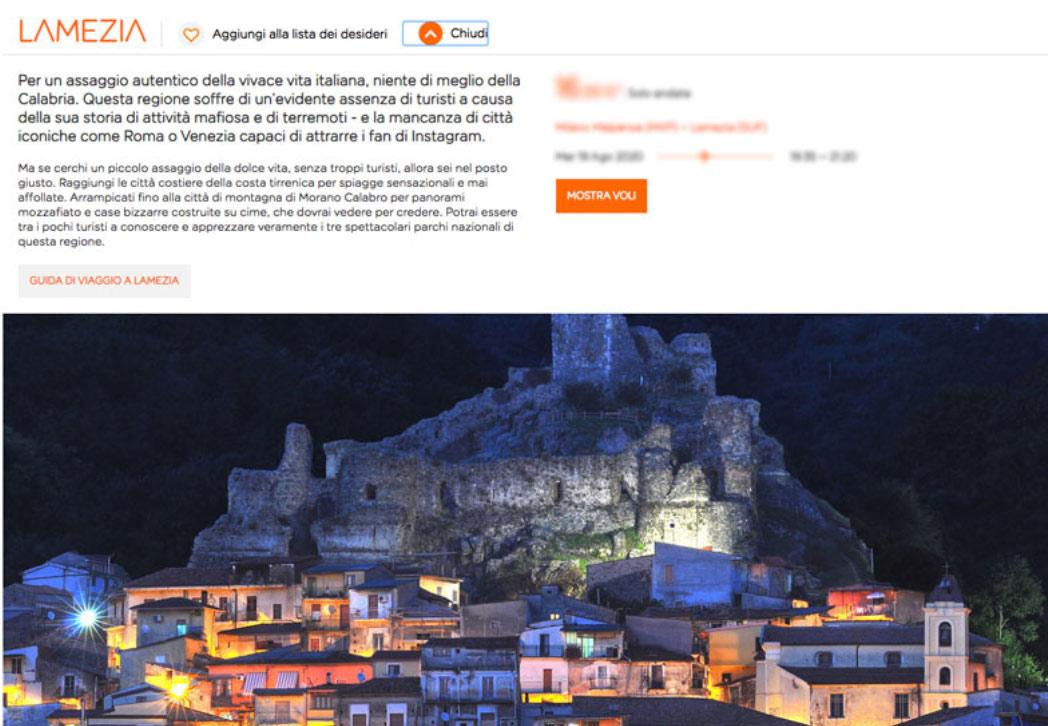 In Calabria pochi turisti a causa di mafia e terremoti: è bufera per le parole di EasyJet