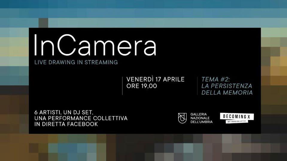Galleria Nazionale dell'Umbria: artisti disegnano live in streaming con djset.