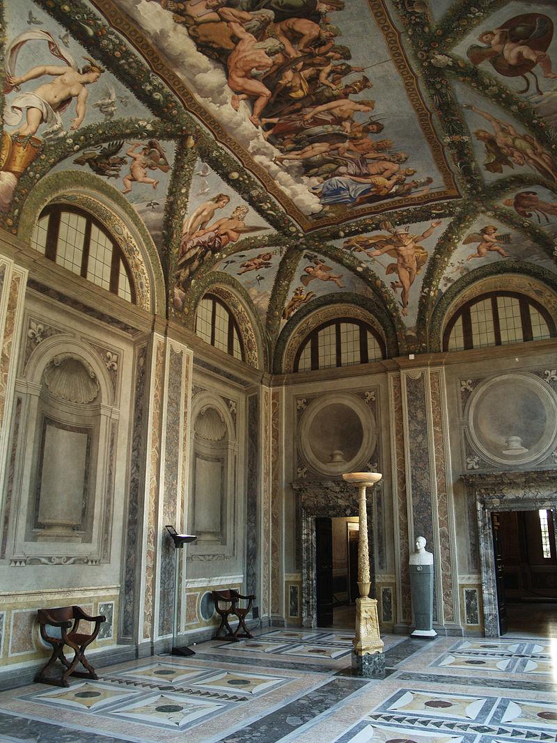 La Loggia di Amore e Psiche di Villa Farnesina