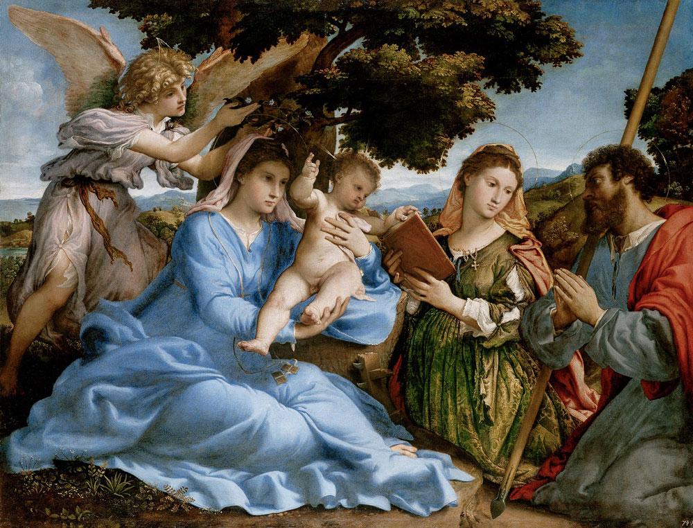 La Sacra Conversazione di Lotto arriva in trasferta a Venezia dal Kunsthistorisches Museum