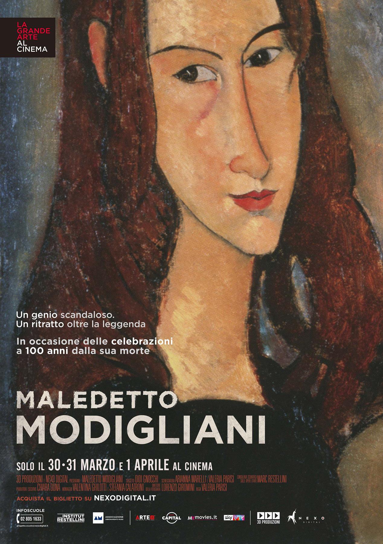Un documentario per Amedeo Modigliani nel centenario della scomparsa. Arriva al cinema a marzo