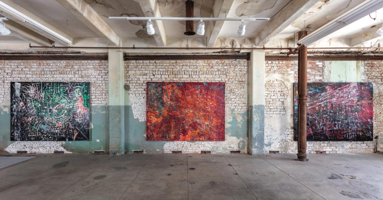 """Mark Bradford presenta online i suoi nuovi dipinti: i """"Quarantine Paintings"""""""