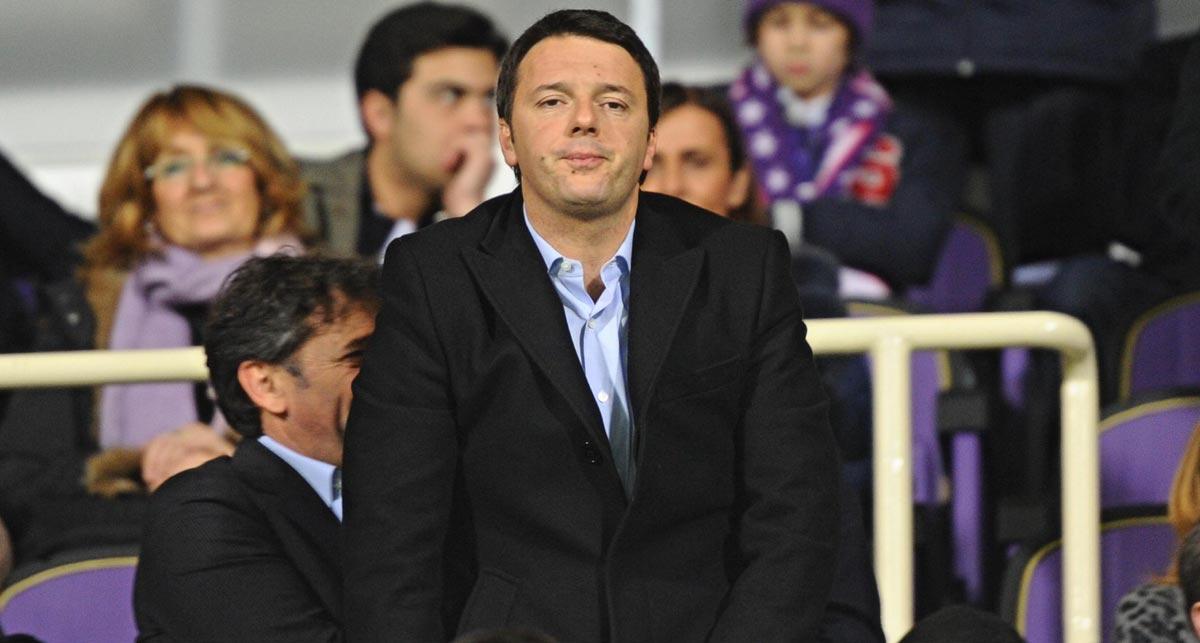 Renzi, batosta alle soprintendenze: interventi sugli stadi bypasseranno autorizzazioni
