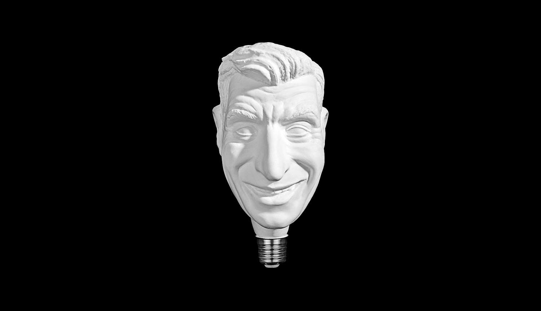 Il genio di Cattelan... ti illumina: è una lampadina la nuova opera-provocazione dell'artista veneto