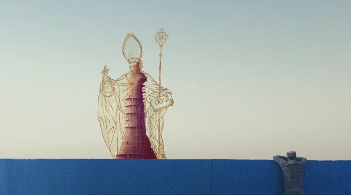 Bari vuol diventare come New York? Si progetta mega-statua di San Nicola al varco del porto