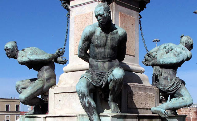 Domani manifestazione Black Lives Matter ai Mori di Livorno, si teme per il capolavoro: sarà il caso di proteggerlo?