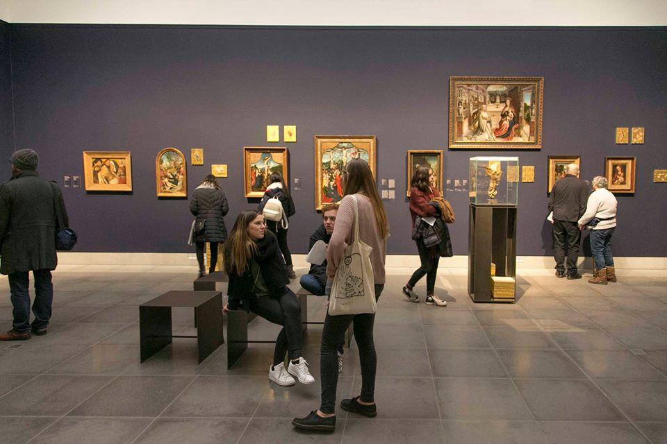 Una sala del Museum voor Schone Kunsten di Gent