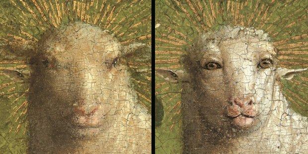 """Agnello mistico di van Eyck, la restauratrice: """"Sono sorti equivoci sul restauro per colpa dei tweet stupidi"""""""