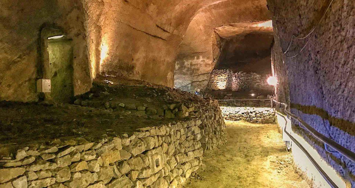 A Napoli apre un inedito percorso sotterraneo, sotto la Basilica della Pietrasanta