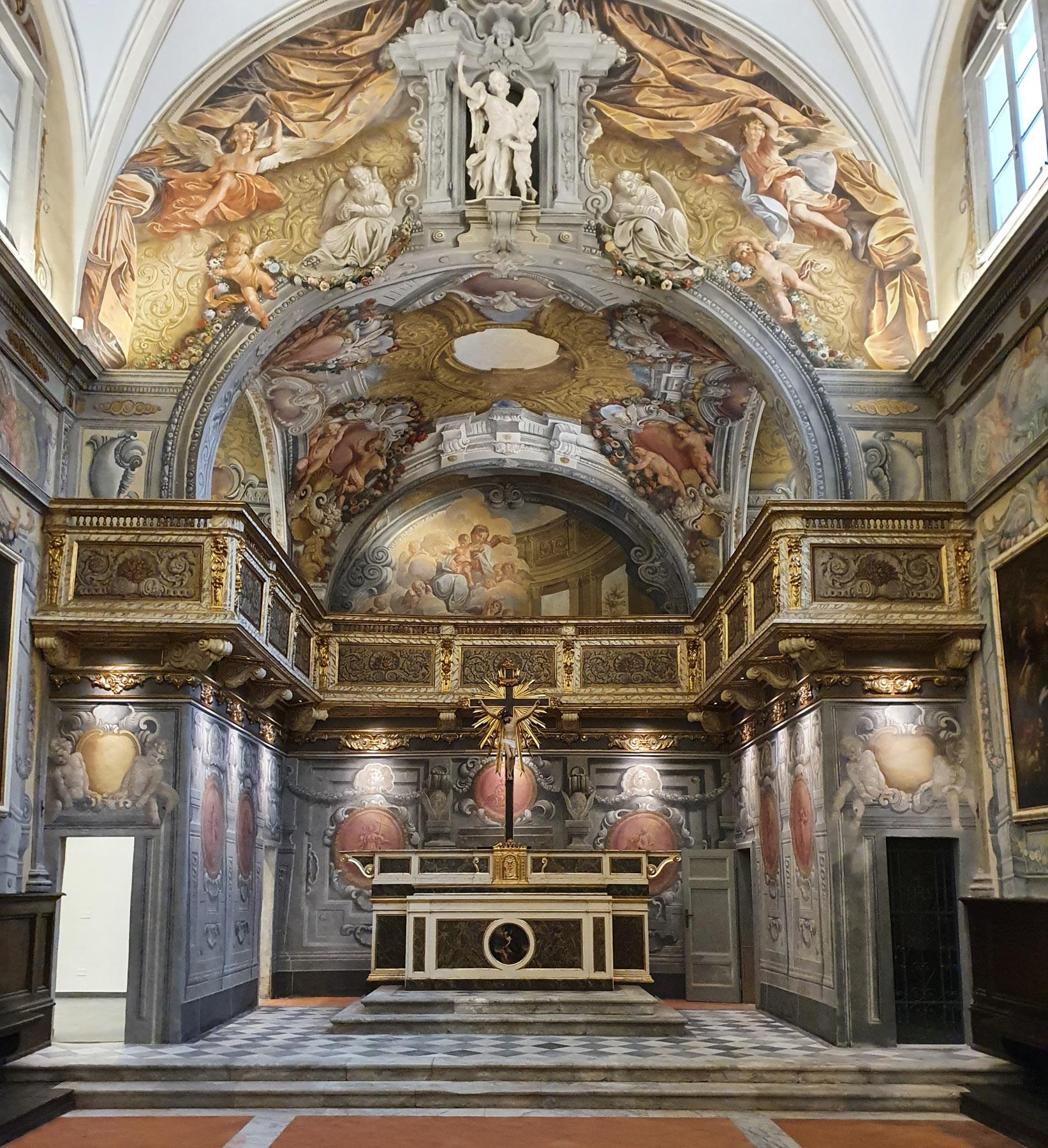 Lucca, termina il restauro dell'Oratorio degli Angeli Custodi: il gioiello barocco ora riapre al pubblico